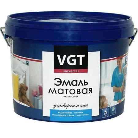 Купить Эмаль универсальная ВД-АК-1179, 1 кг, супербелая матовая ВГТ (VGT)