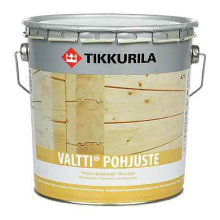 Купить Грунт-антисептик Valtti Pohjuste (Валтти Похъюсте), 0.9 л, бесцветный Tikkurila (Тиккурила)