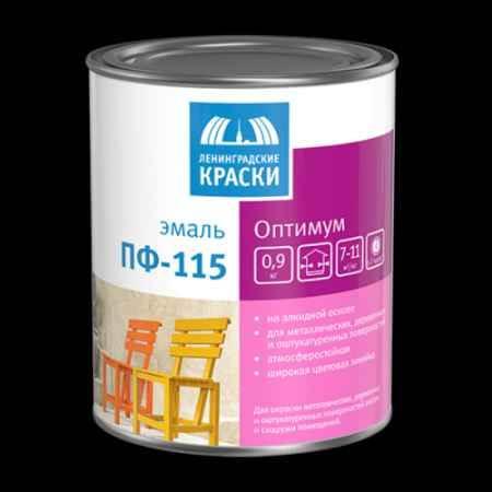 Купить Эмаль Оптимум, ПФ-115, 0,9 кг, красно-коричневый ТЕКС (TEKS)
