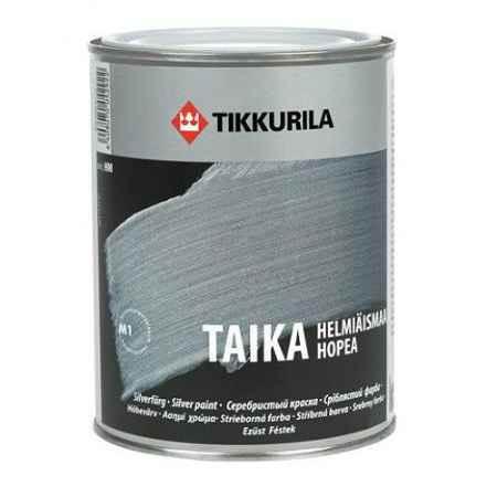 Купить Краска перламутровая Taika (Тайка) КМ, 0.9 л., серебро Tikkurila (Тиккурила)