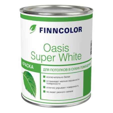 Купить Краска для потолков Finncolor Oasis Super White (Оазис Супер Вайт), 3 л, белый Tikkurila (Тиккурила)