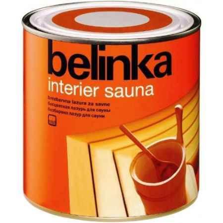 Купить Термостойкое лазурное покрытие на водной основе Сауна, 2,5 л Белинка (Belinka)