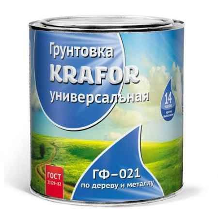 Купить Грунт ГФ-021 6 кг., красно-коричневый Krafor (Крафор)