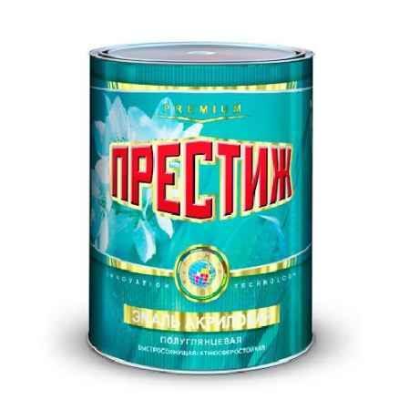 Купить Эмаль акриловая полуглянцевая 0.9 кг., белая Престиж