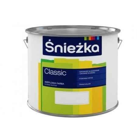 Купить Краска латексная матовая для стен и потолков Sniezka Classic 2.7 л., база С Sniezka (Снежка)