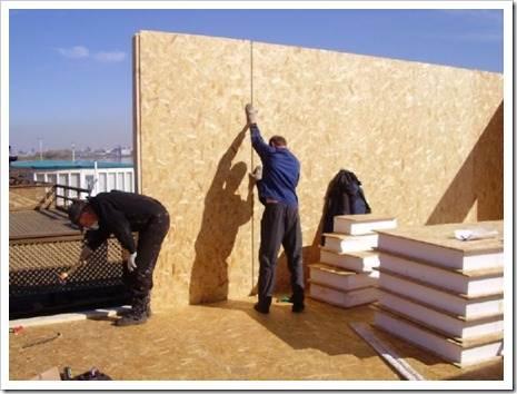 СИП-панели против каркасного строительства