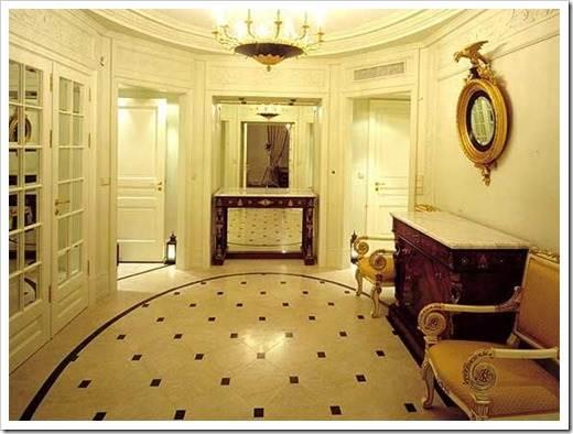 Мраморный пол в квартире