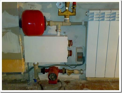 Комплектация и установка электрического отопительного котла
