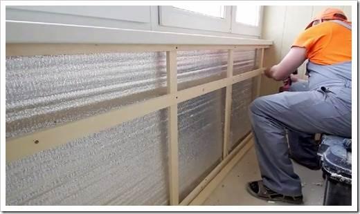 Как утеплить стены изнутри в панельном доме?