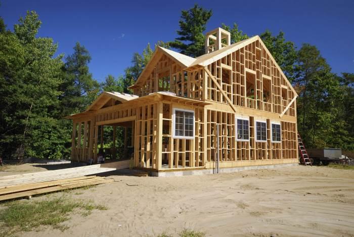 Как рассчитать материал на каркасный дом