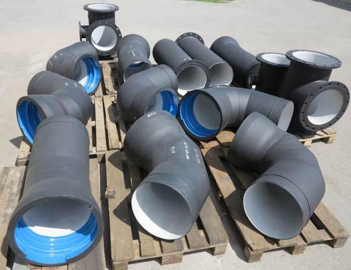 Фасонные части трубопровода