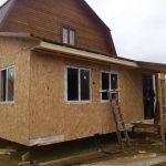 Чем обшить каркасный дом снаружи