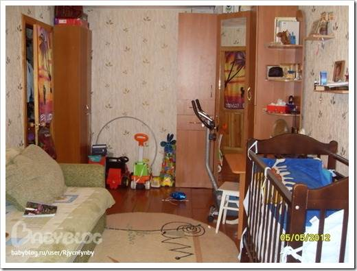 Наиболее оптимальный вариант расположения мебели в детской