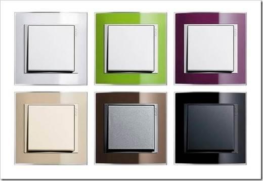 Разнообразие выключателей
