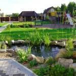 Как спланировать участок загородного дома 15 соток