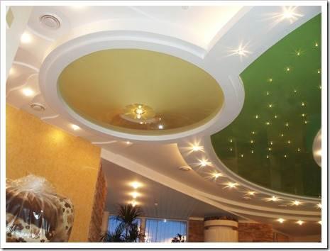Почему следует использовать только плёночные натяжные потолки?