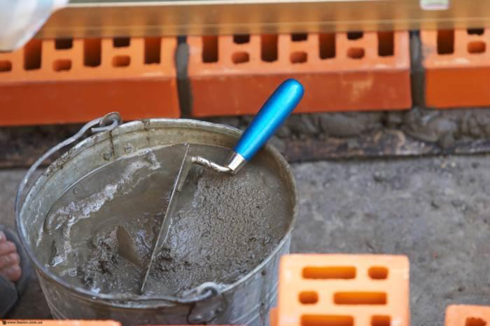 Как разводить цемент м500: пропорции