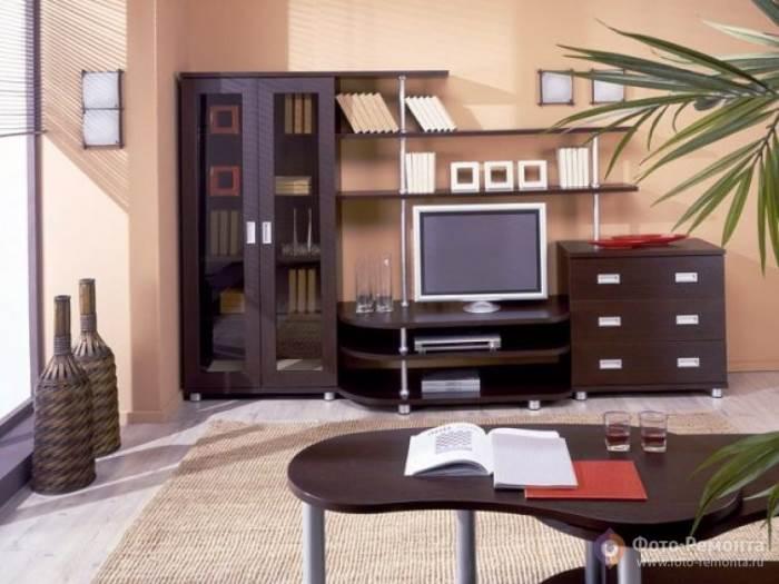 Преимущества деревянной мебели цвета венге