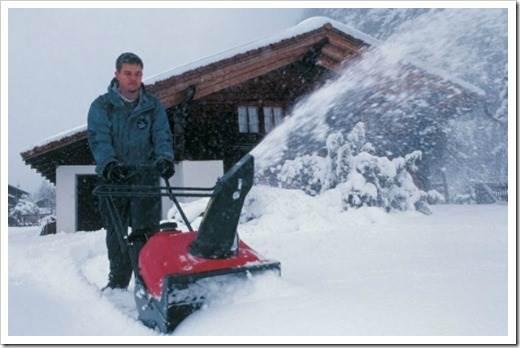 Невозможность уборки мокрого снега
