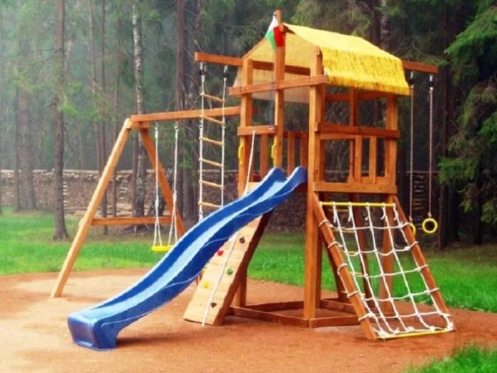 Деревянная площадка для ребенка: основные преимущества