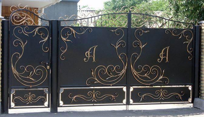 Как сделать ворота для дома