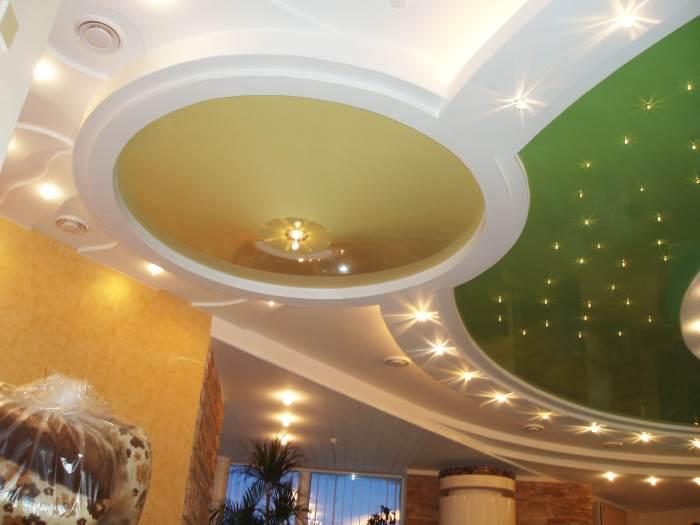 Что такое натяжные потолки