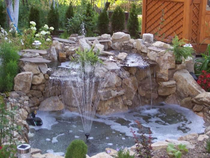 Преимущества декоративных фонтанов