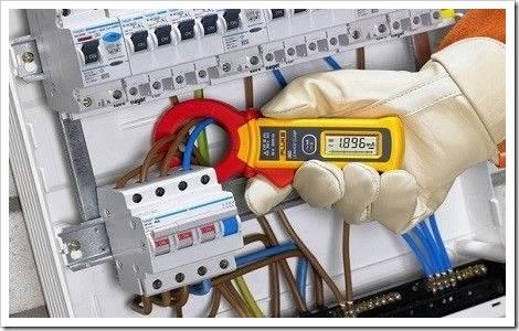 Методика измерения величин при помощи токовых клещей
