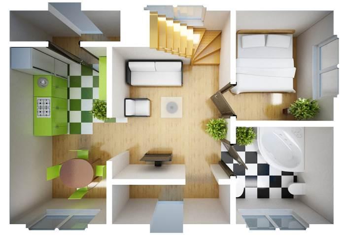 Особенности планировки дачных домиков