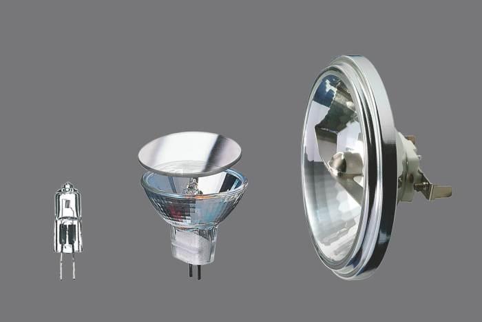 Преимущества галогенных ламп