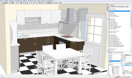 программа дизайн кухни