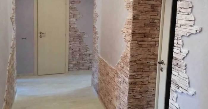 Как класть декоративный кирпич на стену