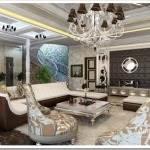 Ремонт квартиры в стиле рококо