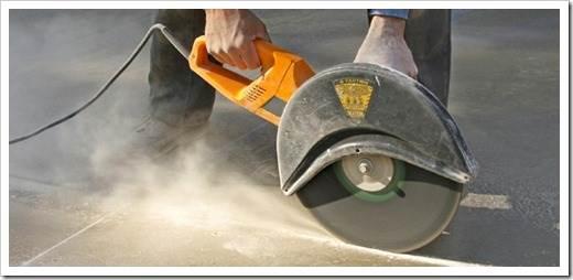 Положительные стороны использования бетонореза