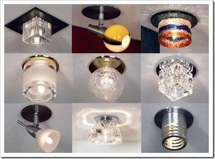 Различные типы ламп