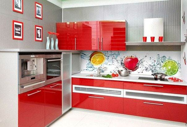 Особенности оформления кухни