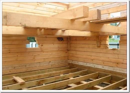 Строить своими руками дом из дерева