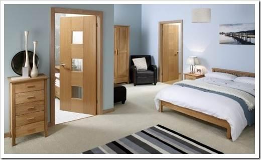 Что такое шпонированные двери?