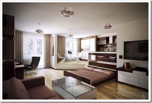 Мебель, которая используется в кваритрах-студиях