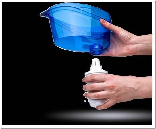 Как поменять картридж в фильтре для воды?