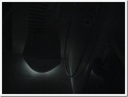 Ночное освещение в санузле