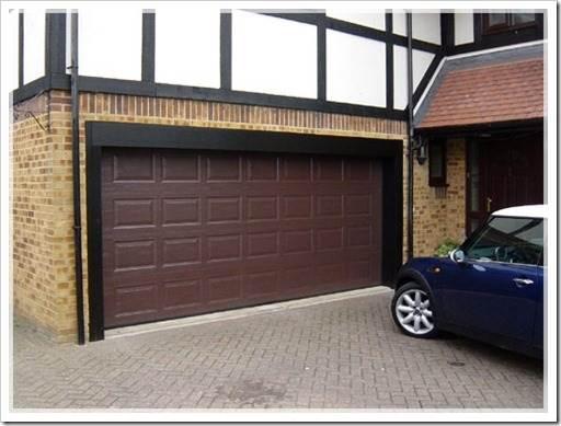 Различные типы гаражных ворот