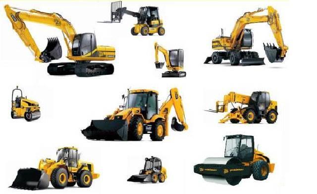 Виды строительной техники