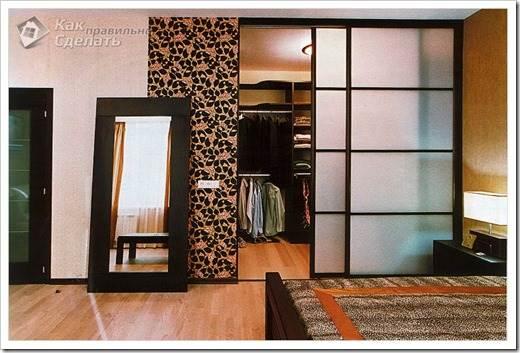 Из чего лучше организовать гардеробную?