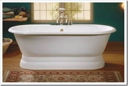 Почему сегодня стараются избежать использования чугунной ванны?