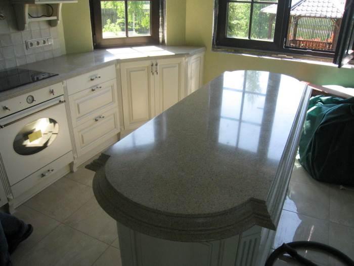 Искусственный камень столешница в домашних условиях