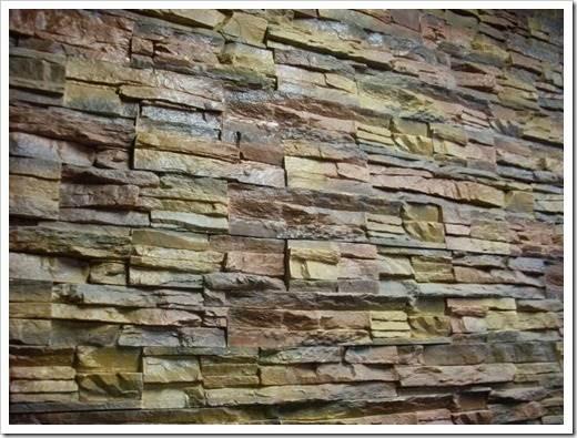 Принцип монтажа декоративного камня