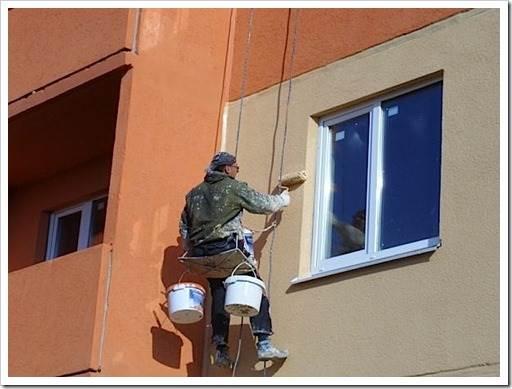 Мытьё фасада – освещение внешнего вида
