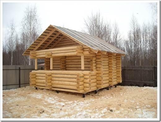 Применение сайдинга для деревянного сруба