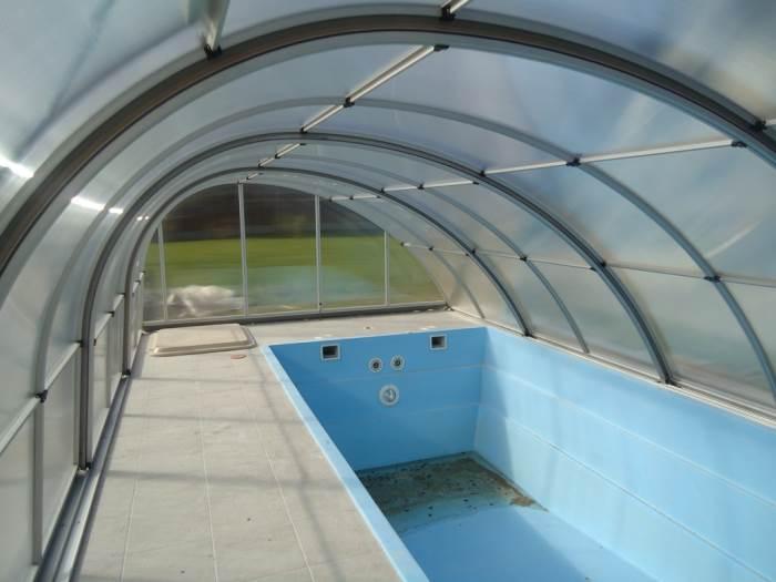 Виды покрытий для бассейнов